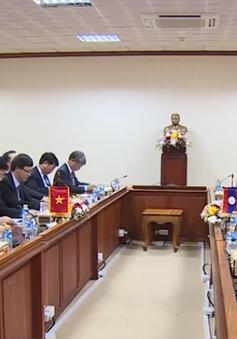 Chuẩn bị động thổ dự án Nhà Quốc hội Lào