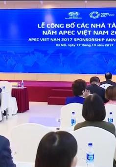 Đã có 31 doanh nghiệp ký kết tài trợ cho năm APEC 2017