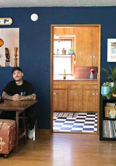 """Cặp đôi """"nghiện"""" mèo biến ngôi nhà hơn 58 m2 thành nơi ở lý tưởng"""