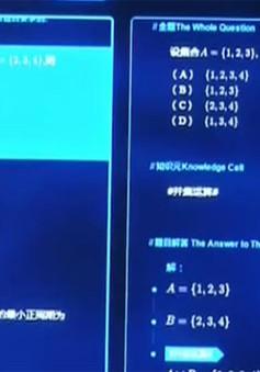 Trung Quốc: Trí thông minh nhân tạo làm toán trong kỳ thi Cao khảo