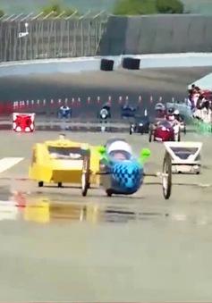 Học sinh cấp 2 Nhật Bản đã biết chế tạo xe ô tô