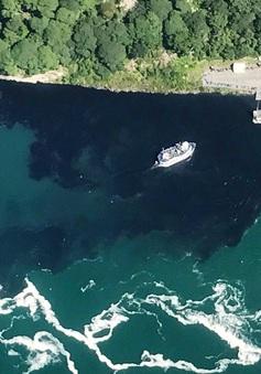 Du khách hốt hoảng khi nước dưới chân thác Niagara chuyển màu đen
