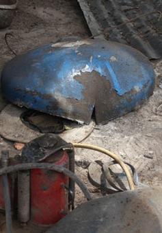 TP.HCM: Nổ bình hàn khí làm 4 người bị thương