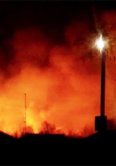 Nổ kho vũ khí tại miền Đông Ukraine, 20.000 người sơ tán khẩn cấp