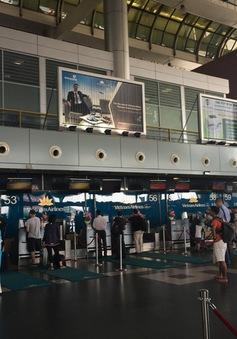 Cháy tủ điện tại Cảng hàng không quốc tế Nội Bài