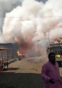 Nổ nhà máy pháo hoa ở Indonesia, 27 người thiệt mạng