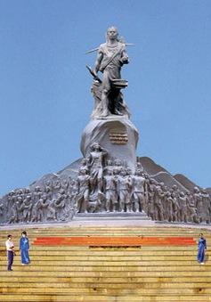 """Đắk Nông ngừng quy định """"trích 1% chi thường xuyên ủng hộ xây dựng tượng đài"""""""