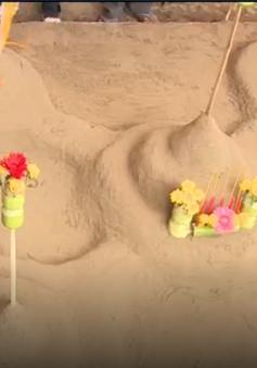 Tục đắp núi cát trong dịp Tết Chol Chnam Thmay