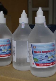 TP.HCM yêu cầu 24 quận, huyện rà soát nước muối sinh lý trên thị trường