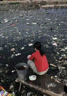 Người dân Ấn Độ dùng nước nhiễm khuẩn cao nhất thế giới