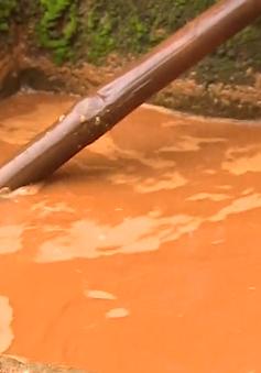 Những khu dân cư nhiều năm không có nước sạch