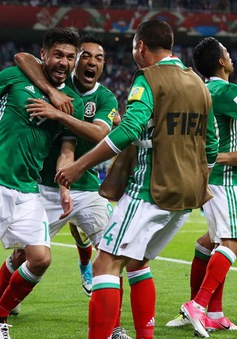 Cúp Liên đoàn các châu lục 2017: ĐT Mexico ngược dòng đánh bại ĐT New Zealand