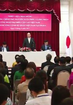 Thủ tướng thăm Tổng Lãnh sự quán tại Osaka
