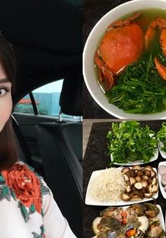 Những bữa cơm ngon tự tay Lã Thanh Huyền vào bếp nấu