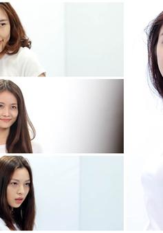 Ngắm mặt mộc của các thí sinh The Face mùa 2