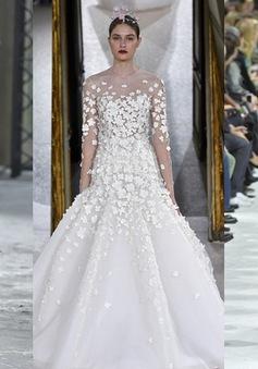 """Ngắm những thiết kế váy cưới làm """"chao đảo"""" Tuần lễ thời trang Paris"""