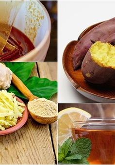 7 loại thực phẩm giúp bạn giữ ấm cơ thể khi trời lạnh