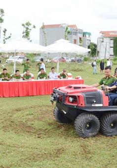 Tập huấn sử dụng xe PCCC cho 5 địa phương