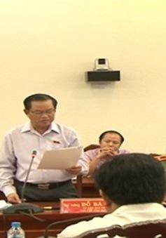 Đoàn giám sát của Ủy ban Thường vụ Quốc hội làm việc với UBND tỉnh Cà Mau