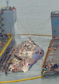 Hàn Quốc đưa phà Sewol về cảng Mokpo
