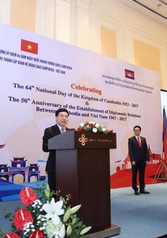 Việt Nam và Campuchia có mối quan hệ đoàn kết hữu nghị truyền thống lâu đời