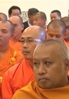 Gặp mặt Đoàn đại biểu Phật giáo An Nam tông