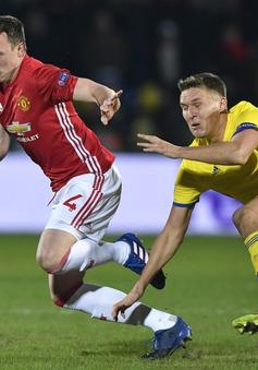 Thống kê: Man Utd luôn gặp khó trước các đối thủ Nga!