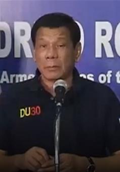 Tổng thống Philippines tuyên bố không thương lượng với khủng bố