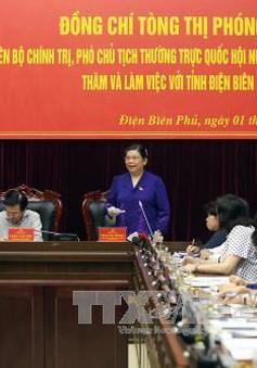 Phó Chủ tịch Thường trực Quốc hội làm việc với tỉnh Điện Biên