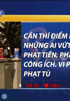 Dân mạng nói gì về cảnh phố đi bộ Nguyễn Huệ ở TP.HCM ngập rác sau đêm Noel