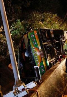 Lật xe bus tại Đài Loan (Trung Quốc), hơn 40 người thương vong