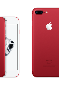 "Ra mắt iPhone X, Apple ""khai tử"" iPhone 7/7 Plus màu đỏ"