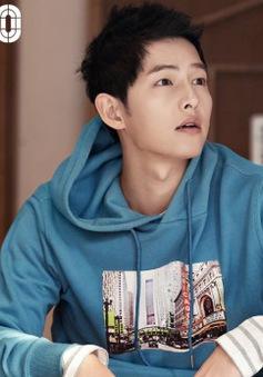Vừa có bộ ảnh mới, Song Joong Ki lại gây sốt