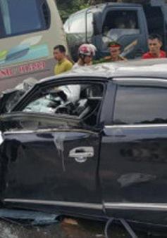 Tuyên Quang: Tai nạn giao thông liên hoàn, 5 người nhập viện