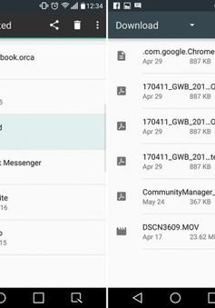 Mẹo hay tìm nhanh những tập tin đã tải về trên thiết bị Android