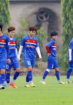Đội tuyển nữ Quốc gia hoàn thiện thể lực, tích cực tập sút cầu môn