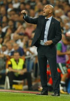 """Zidane: """"Real Madrid thua vì bóng không chịu vào lưới"""""""