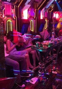 Kiểm tra quán karaoke, phát hiện hơn 100 người nghi sử dụng ma túy
