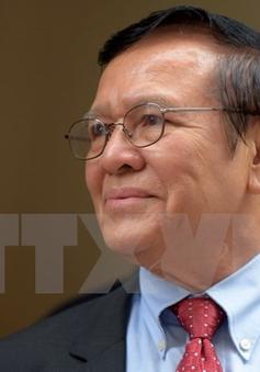 Campuchia ấn định ngày mở phiên tòa xem xét giải thể đảng CNRP