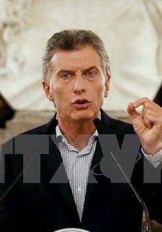 Tổng thống Argentina kêu gọi sự ủng hộ đối với kế hoạch cải cách