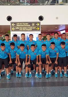 U19 Việt Nam chuẩn bị cho trận ra quân tại bảng H – Vòng loại U19 châu Á 2018