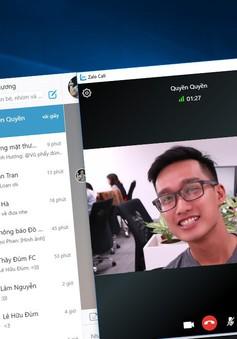 Zalo ra mắt nhiều tính năng mới, cho phép người dùng gọi video trên PC, laptop