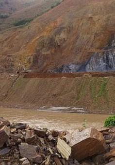 Sập sàn bê tông thủy điện Nậm Na 1, 3 công nhân thương vong