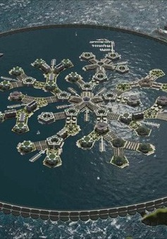 Thành phố… nổi trên biển