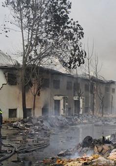 3 người chết, 80 tỷ đồng ra tro sau hỏa hoạn tại công ty bánh kẹo