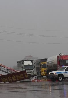 Những con số thiệt hại do bão số 10 tại các tỉnh miền Trung