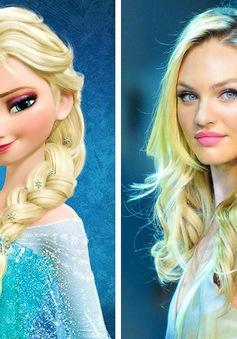 Dàn sao Hollywood có khuôn mặt giống hệt các nhân vật của Disney