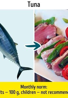 9 loại cá quen thuộc nhưng không nên ăn nhiều