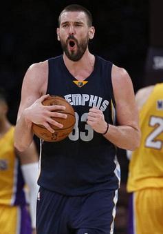 Các ngôi sao đồng loạt sáng, Lakers thắng đẹp Grizzlies