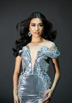 Lệ Hằng bất ngờ tung ảnh đầm dạ hội diện trong CK Miss Universe 2017